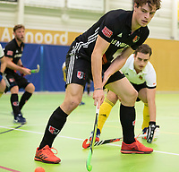 VIANEN - Boris Burkhardt (Adam) Zaalhockey Amsterdam-Victoria heren.  COPYRIGHT KOEN SUYK