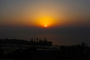 Sunrise over the sea of Galilee, Israel