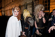 PALOMA FAITH; PAM HOGG; JODIE HARSH, Dazed & Confused 20th Anniversary Exhibition. Somerset House. London. 3 November 2011<br /> <br />  , -DO NOT ARCHIVE-© Copyright Photograph by Dafydd Jones. 248 Clapham Rd. London SW9 0PZ. Tel 0207 820 0771. www.dafjones.com.