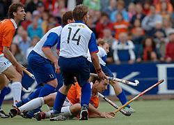 05-06-2005 HOCKEY: FINALE PLAYOFFS: BLOEMENDAAL-ORANJE ZWART: BLOEMENDAAL<br /> De hockeyers van Oranje Zwart zijn voor het eerst in hun bestaan landskampioen geworden. De Eindhovense club klopte Bloemendaal in het beslissende play-off-duel met 3-1 / <br /> Karel Klaver<br /> ©2005-WWW.FOTOHOOGENDOORN.NL