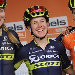 01-09-2017: Wielrennen: Boels Ladies Tour: Weert: Amanda Spratt