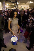 Mel B, Make-A-Wish Charity Evening at Selfridges, Selfridges,  400 Oxford St. London. 17 December 2007. -DO NOT ARCHIVE-© Copyright Photograph by Dafydd Jones. 248 Clapham Rd. London SW9 0PZ. Tel 0207 820 0771. www.dafjones.com.