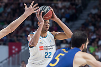 Real Madrid Walter Tavares during Liga Endesa match between Real Madrid and FC Barcelona Lassa at Wizink Center in Madrid, Spain. November 12, 2017. (ALTERPHOTOS/Borja B.Hojas)