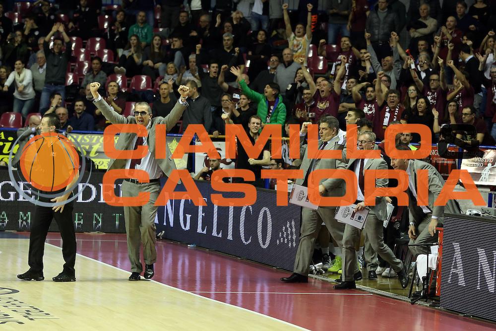 De Raffaele Walter<br /> Umana Reyer Venzia vs BK Venspils<br /> Basketball Champions League 2016/2017<br /> Venezia, 22/02/2017<br /> Foto Ciamillo-Castoria/A. Gilardi