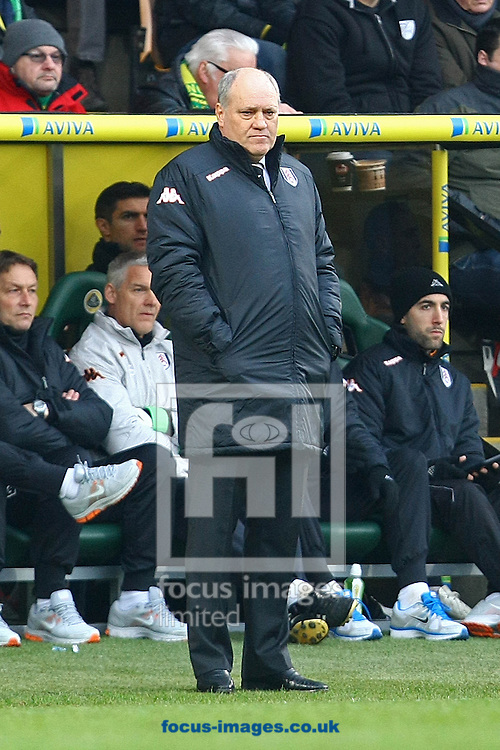 Picture by Paul Chesterton/Focus Images Ltd +44 7904 640267.09/02/2013.Fulham Manager Martin Jol during the Barclays Premier League match at Carrow Road, Norwich.