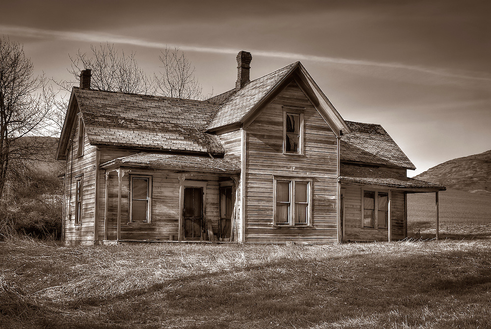 Many old farming and ranching structures still stand in spite of the rough climate in Eastern Washington.