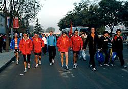 21-10-2007 ATLETIEK: ANA BEIJING MARATHON: BEIJING CHINA<br /> De Beijing Olympic Marathon Experience georganiseerd door NOC NSF en ATP is een groot succes geworden / Team Nashuatec<br /> ©2007-WWW.FOTOHOOGENDOORN.NL
