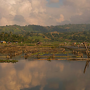 Lake Sebu, Philippines. Very large file, 135.4 MB. May not view properly on the site. Please ask for more details if of interest?<br /> <br /> Lake Sebu is a first class municipality in the province of South Cotabato, Philippines. The placid lake of Lake Sebu can be found in Allah Valley near the municipality of Surallah, South Cotabato. Surrounded by rolling hills and mountains covered with thick rain forest, the lake has an area of 354 hectares (870 acres), with an elevation of approximately 1,000 metres (3,300 ft).