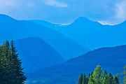 Hazelton Mountains of the Coast Mountains, Near Kitwanga, British Columbia, Canada