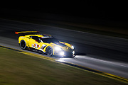 October 11-13, 2018: IMSA Weathertech Series, Petit Le Mans: 3 Corvette Racing, Corvette C7.R, Jan Magnussen, Antonio Garcia, Marcel Fassler