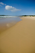 Empty Beachscape, East Coast Australia, Samurai Beach, Port Stephens, NSW, Australia,