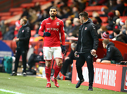 December 23, 2017 - London, United Kingdom - Charlton Athletic's Leon Best.during Sky Bet  League One match between Charlton Athletic  against Blackpool at The Valley Stadium London on 23 Dec  2017  (Credit Image: © Kieran Galvin/NurPhoto via ZUMA Press)