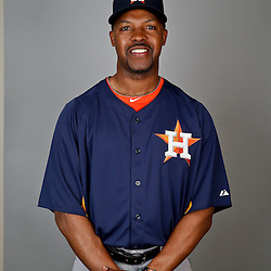Feb 21, 2013; Kissimmee, FL, USA; Houston Astros manager Bo Porter (16) during photo day at Osceola County Stadium. Mandatory Credit: Derick E. Hingle-USA TODAY Sports