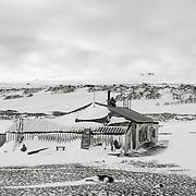 Cape Evans hut.
