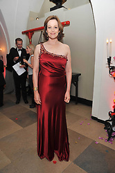 Actress SIGOURNEY WEAVER at the Royal Rajasthan Gala 2009 benefiting the Indian Head Injury Foundation held at The Banqueting House, Whitehall, London on 9th November 2009.