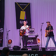 London, UK. 2nd September 2017. Finalist Roadstead band of two preforms at the Mayor Of London Gigs at Westfield London.