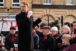 Remembrance Sunday Barnsley Choir<br /> <br />  Copyright Paul David Drabble<br />  10 November 2019<br />  www.pauldaviddrabble.co.uk
