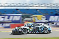 Richard Lietz (AUT) / Michael Christensen (DNK) #77 Dempsey Proton Racing Porsche 911 RSR, WEC 6 Hours of Silverstone 2016 at Silverstone, Towcester, Northamptonshire, United Kingdom. April 17 2016. World Copyright Peter Taylor/PSP.