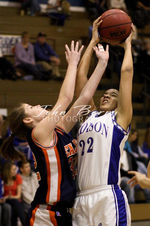 MCHS JV Girls Basketball .vs Clarke .2/10/2009