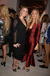 Lady Kitty Spencer and her mother Victoria at the Tatler's English Roses 2017 party in association with Michael Kors held at the Saatchi Gallery, London England. 29 June 2017.<br /> Photo by Dominic O'Neill/SilverHub 0203 174 1069 sales@silverhubmedia.com