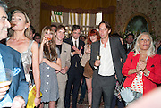 EDIE CAMPBELL; JOHNNY BORRELL; FLORENCE WELCH; STUART HAMMOND, Dylan Jones hosts a party for Brett Easton Ellis and his new book.- Imperial Bedrooms. Mark's Club. London. 15 July 2010.  -DO NOT ARCHIVE-© Copyright Photograph by Dafydd Jones. 248 Clapham Rd. London SW9 0PZ. Tel 0207 820 0771. www.dafjones.com.