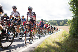Sabrina Stultiens (NED) of Team Sunweb rides up on the only categorised climb of Stage 1 of the Ladies Tour of Norway - a 101.5 km road race, between Halden and Mysen on August 18, 2017, in Ostfold, Norway. (Photo by Balint Hamvas/Velofocus.com)