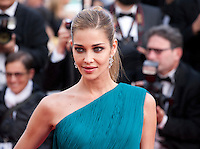 Ana Beatriz Barros at the gala screening for the film The Unknown Girl (La Fille Inconnue) at the 69th Cannes Film Festival, Wednesday 18th May 2016, Cannes, France. Photography: Doreen Kennedy