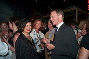BIANCA JAGGER; ARCHDUCHESS Francesca von Habsburg; MICHAEL MORRIS; SIR NICHOLAS SEROTA,   , The Launch of Food for thought, Thought for Food, The Creative Universe of El Bulli's Ferran Adria. Edited by Richard Hamilton and Vincente Todoli. The double Club, 7 Torrens st. London EC1. 22 June 2009