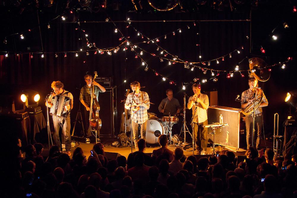 Beirut perform at The Independent - San Francisco, CA - 10/27/11