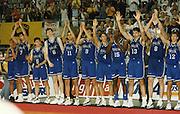 Europei Barcellona 1997<br /> moretti, bonora, coldebella, marconato, frosini, abbio, carera, gay, galanda, fucka, pittis, myers