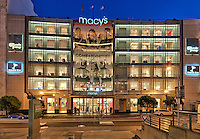 Architecture Photography: Macy's retail store, San Francisco, California, USA