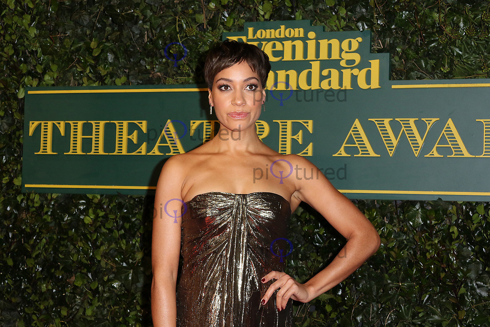 Cush Jumbo, London Evening Standard Theatre Awards, Theatre Royal Drury Lane, London UK, 03 December 2017, Photo by Richard Goldschmidt