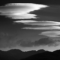 Lenticulars over Glen Coe, Scotland