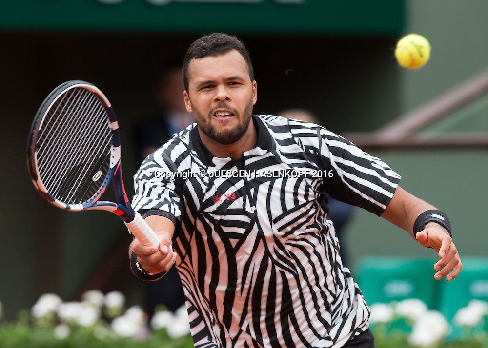 Jo-Wilfried Tsonga (FRA)<br /> <br /> Tennis - French Open 2016 - Grand Slam ITF / ATP / WTA -  Roland Garros - Paris -  - France  - 24 May 2016.