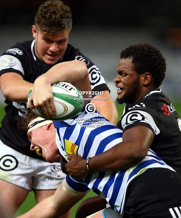 DURBAN, SOUTH AFRICA, 9,JULY, 2016 during The Cell C Sharks U19 vs Western Province U19 at Growthpoint Kings Park in Durban, South Africa. (Photo by Steve Haag)<br /> <br /> images for social media must have consent from Steve Haag