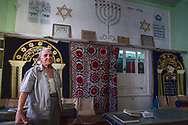 A small synagogue in Bukhara is where a few remaining Bukharan Jews can gather. Their community is getting smaller every year with officially only 135 members left. For a comparison, in 1975 there were 25.000 Bukharan Jews registered in Bukhara.