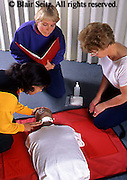 Medical , CPR Training with Manikin