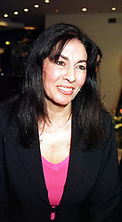SOHEIR KHASHOGGI sister of Adnan Khashoggi the middle eastern businessman, at a party in London on 14th March 2000.OCB 9