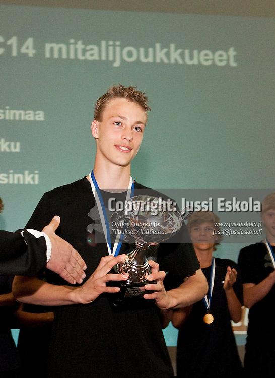 Pojat C14 mestarijoukkue Uusimaa. Piirijoukkue-Cup. Pajulahti. 20.6.2010. Photo: Jussi Eskola