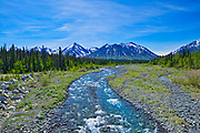 Dezadeash River, Haines Junction, Yukon, Canada