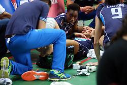 18-06-2016 ITA: World Grand Prix Italie - Nederland, Bari<br /> Nederland wint opnieuw van Italie, het ging moeizaam maar de 3-1 winst was genoeg / Alessia Orro #4 of Italie valt geblesseerd uit<br /> <br /> <br /> ***NETHERLANDS ONLY***