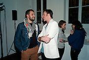 ROCCO TOSCANI; PETROC SESTI, 30 Years Of i-D - book launch. Q Book 5-8 Lower John Street, London . 4 November 2010. -DO NOT ARCHIVE-© Copyright Photograph by Dafydd Jones. 248 Clapham Rd. London SW9 0PZ. Tel 0207 820 0771. www.dafjones.com.