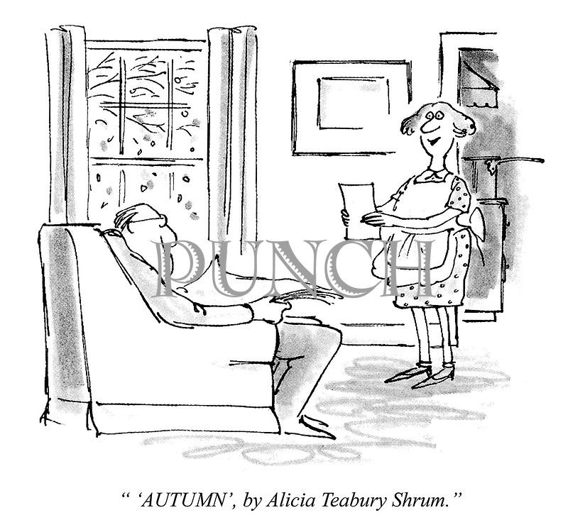 """"""" 'Autumn', by Alicia Teabury Shrum."""""""