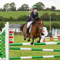 Sophia Dooley on her pony Gypsy Rose during the showjumping at the Scarriff Agricultural Show 2014