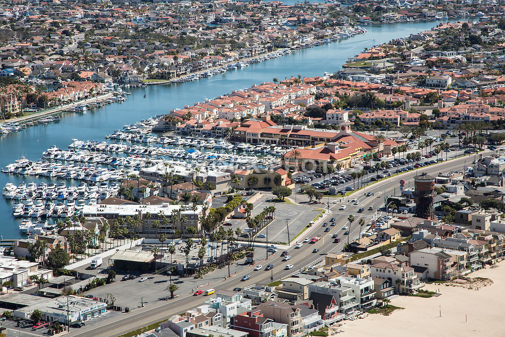 Aerial Photo of Sunset Beach, Peter's Landing Marina and Broadmoor Community