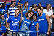 Tifosi italia<br /> Nazionale Italiana Maschile Senior - Trentino Basket Cup 2017<br /> Italia - Paesi Bassi / Italy - Netherlands<br /> FIP 2017<br /> Trento, 30/07/2017<br /> Foto Agenzia Ciamillo-Castoria