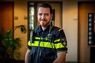 Portret van politieagent  koen Simmers