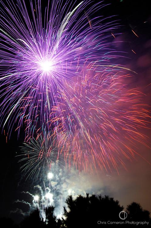 Fireworks, Fallas festival, Valencia, Spain. 17/3/2007