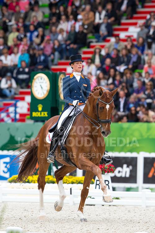 Adelinde Cornelissen, (NED),  Jerich Parzival - Grand Prix Special Dressage - Alltech FEI World Equestrian Games&trade; 2014 - Normandy, France.<br /> &copy; Hippo Foto Team - Leanjo de Koster<br /> 25/06/14