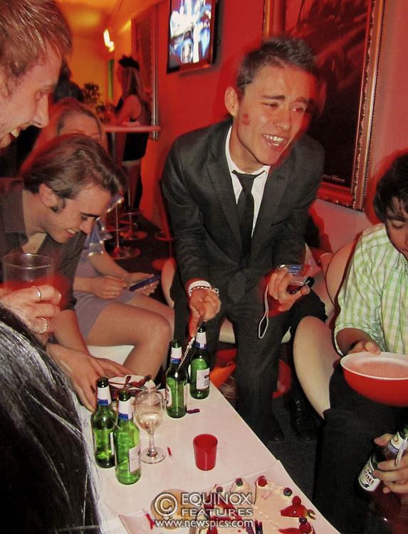 London, United Kingdom - 30 January 2011.Samuel Garcia Guanche's 23rd birthday party at the Roof Gardens Kensington, Kensington, London, England, UK..Copyright: ©2011 Equinox Licensing Ltd. +448700 780000.Contact: Equinox Features.Date Taken: 20110130.Time Taken: 014107+0000.www.newspics.com